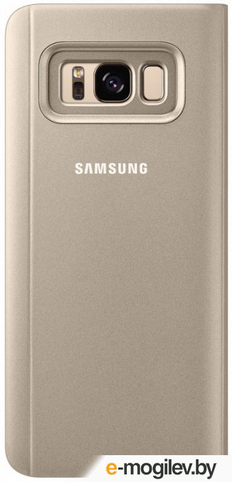 Чехол (флип-кейс) Samsung для Samsung Galaxy S8+ Clear View Standing Cover золотистый (EF-ZG955CFEGRU)