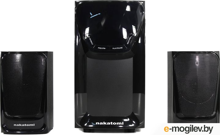 Nakatomi GS-37 (2x15W+Subwoofer 30W, SD, USB,  Bluetooth, ПДУ, FM)