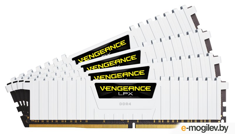 Память DDR4 2x16Gb 3000MHz Corsair CMK32GX4M2B3000C15W RTL PC4-24000 CL15 DIMM 288-pin 1.35В