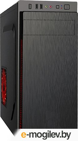 Exegate XP-324U Black, ATX, без БП, 2*USB+1*USB3.0, Audio