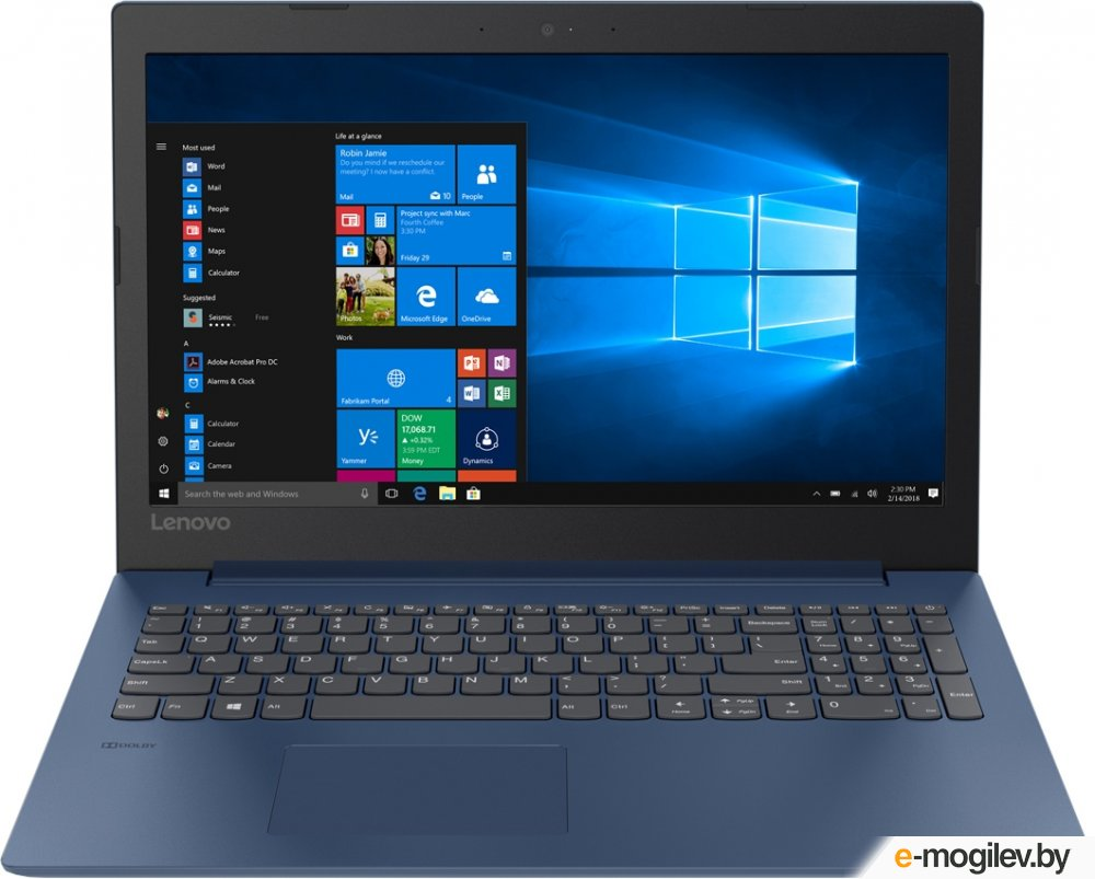 Lenovo IdeaPad 330-15IGM 81D1002NRU Intel Pentium N4000 1.1 GHz/4096Mb/500Gb/No ODD/Intel HD Graphics/Wi-Fi/Bluetooth/Cam/15.6/1366x768/Windows 10 64-bit