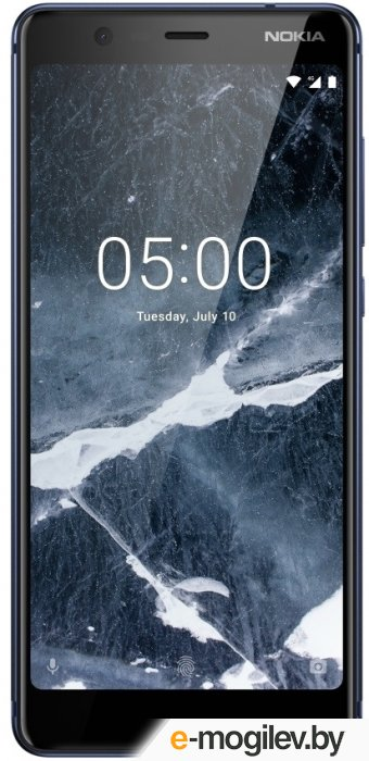 Смартфон Nokia 5.1 DS Blue Helio P18/5.5 (2160x1080)/3G/4G/2Gb/16Gb/16Mp+8Mp/Android 8.0