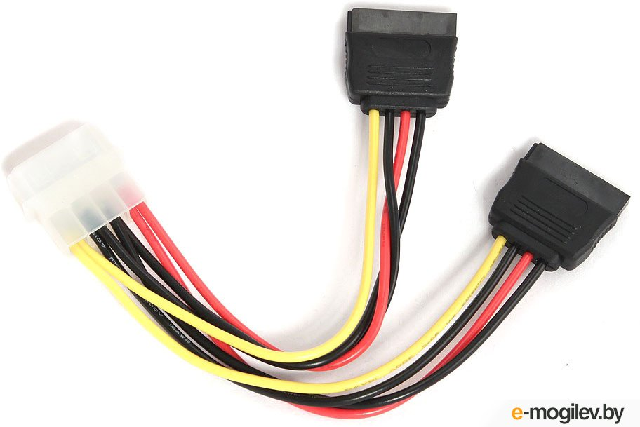 Gembird CC-SATA-PSY Serial-ATA*2 - POWER cable / Molex(F) -> 2xSata