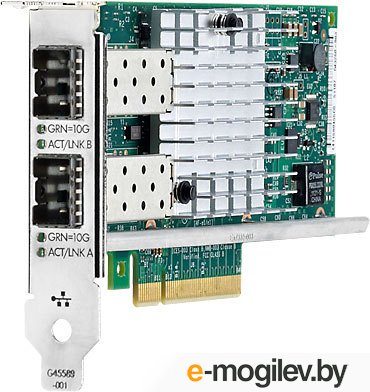 Адаптер HP Ethernet 10Gb 2P 560SFP+ Adptr (665249-B21)
