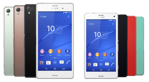 �������: ���� ������� Xperia Z6, Z6 Mini, Z6 Compact, Z6 Plus � Z6 Ultra