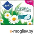 LIBRESSE Natural Care Maxi Super (Wing) 9шт