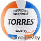 TORRES Simple Orange V30125 (White-Light Blue-Orange)